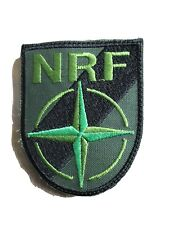 Belgium NATO Response Force Patch