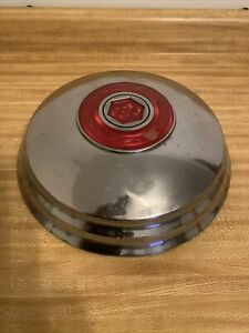 "1948 ,49,50 Packard Hubcap,12 3/4"" Cloisonne Medallion, Oem  Original Used"