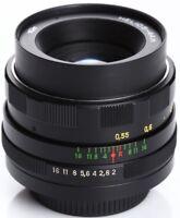 US Seller Helios 44m EXC 58mm f2 Russian Bokeh portrait Lens DSLR M42 Mount 44-2