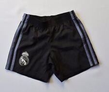 Real Madrid Shorts 2017 Size 3-4 y Kids Football Soccer Black Adidas AI5148 ig93