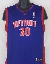 Detroit Pistons Jersey Reebok NBA Wallace #30 Boys Youth L 14-16