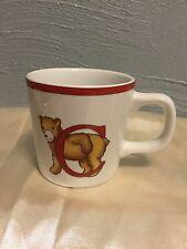 Tiffany & Co Alphabet Bears Childs Cup Porcelain Japan 1994 Vintage