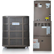 2 Ton A/C and Gas Complete Split System 14 Seer 80% AFUE 70K BTU by MRCOOL