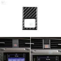 4*Carbon Fiber Interior Warning Light Button Cover For VW Golf 7 MK7 VII 2013+