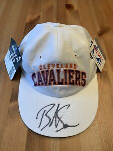 vintage Cleveland Cavs Cavaliers NBA basketball signed Starter cap hat