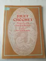 Filet Crochet Projects and Charted Designs Patterns Dover Kettelle