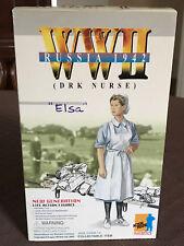 2000 DRAGON German WWII ELSA DRK Nurse, Russia 1942 1:6 Action Figure NIB 70039