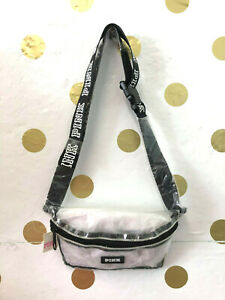 VICTORIA'S SECRET PINK CLEAR FANNY PACK NWT