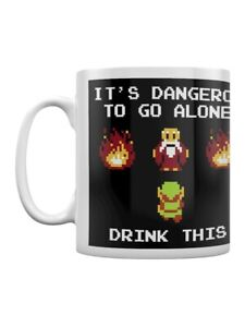 The Legend of Zelda Mug for Tea or Coffee Drink This White
