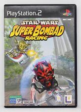 STAR WARS SUPER BOMBAD RACING - PLAYSTATION 2 PS2 PLAY STATION 2 - PAL ESPAÑA