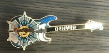 Hard Rock Cafe Electric Guitar Denver Snowflake pin