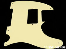 *NEW Cream HUMBUCKER Telecaster PICKGUARD for USA Fender Tele 1 Ply 5 Hole