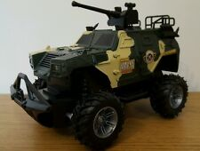ARMY TANK MILITARY 2WD MONSTER TRUCK Radio Remote Control Car  FAST SPEED