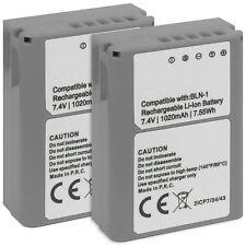 2x Batterie BLN-1 pour Olympus PEN E-P5 / Pen-F / BCN-1