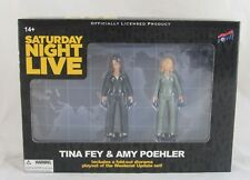 Saturday Night Live Tina Fey & Amy Poehler Figures, Bif Bang Pow, New in Box