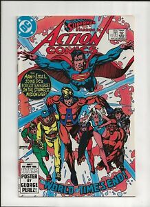 Action Comics #553 (1984) High Grade NM 9.4