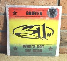"""311 - Grifter & Who's Got The Herb, LTD RSD 7"""" Single New & Sealed!!"""