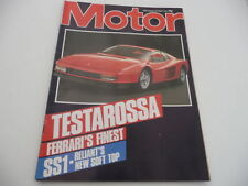 Weekly Motor Magazines