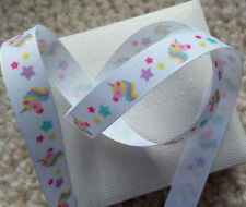 1m x 25mm  Berisfords  Blue Baby Boy Ribbon /& Elephants  Pink Baby Girl /& Zebras
