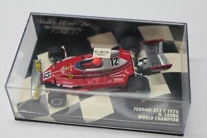 1/43 Minichamps  Ferrari 312 T Niki Lauda World Champion