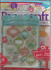 PAPERCRAFT INSPIRATIONS MAGAZINE #156 OCTOBER 2016 WITH FREE BAUBLE STAMP SET