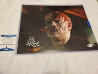 TED WHITE AUTOGRAPHED SIGNED 11x14 PHOTO JASON FRIDAY THE 13TH BECKETT COA