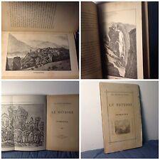 1888 LE METEORE DI TESSALIA ___ GRECIA__KALAMBAKA__MONASTERI__TESSAGLIA