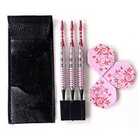 Professional Soft Tip Darts 17 Grams Pink Barrels For Girl Dart Set Darts S F3W1