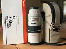 canon ef 300 mm f/4 l is usm lens