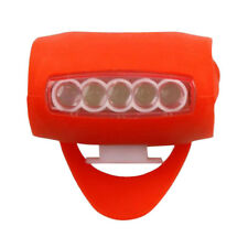 HOT Cycling Bike Bicycle 7 LED Black Silicone Warning Rear Front Light Lamp RD