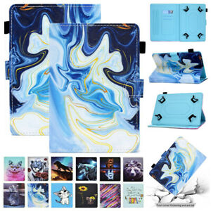 """Universal Leather Stand Case Cover For Samsung Galaxy Tab 7"""" 8"""" 9.7"""" 10.1"""" 10.5"""""""
