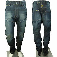 G-Star 5620 Chino ARC Loose Tapered denim blue mens size W28 L32   *REF58