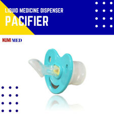 Pacifier Baby Soother Liquid Feeding Medicine Dispenser 6-18months NumiMed Green
