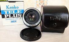 Kenko Teleplus MC4 Canon Conversion Lens 2X CFE Borsa e Scatola Nuovo