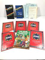 Vintage 1980's Atari 2600 Activision Video Game Catalog Lot (x8)