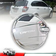 Chrome Fuel Oil Tank Gas Cap Cover Trim For 2012-15 Chevrolet Captiva Sport Suv