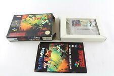 Snes Super Nintendo Earthworm Jim Pal Video Game