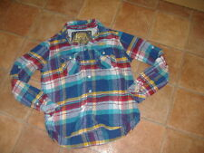 SUPERDRY MENS SHIRT,SIZE M,G/C,DESIGNER SHIRT/TOP, FREE UK POST