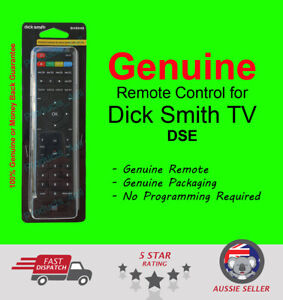 Dick Smith Electronics DSE 100% GENUINE LED LCD HD TV Remote Control GH3048