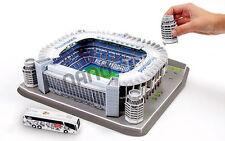 Real Madrid 3D Modelo Puzzle estadio Santiago Bernabeu stadium presentes en Caja De Regalo