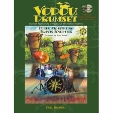 Vodou Drumset Applications Traditional Afro-Haitian Rhythms Music Song Book & CD