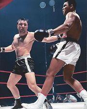 GEORGE CHUVALO vs MUHAMMAD ALI 8X10 PHOTO BOXING PICTURE