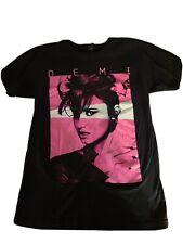 Demi Lovato, Size Small, Neon Lights Tour 2014 Black T-Shirt, Great Shape, Pics