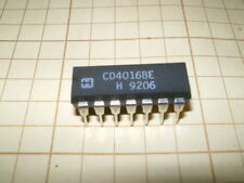 CD4016  4016B Quad Analog Switch/Quad Multiplexer