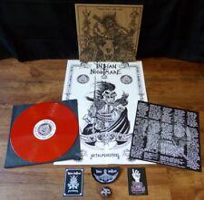 Indian Nightmare – Taking Back the Land LP RED Vinyl Thrash Metalpunk Punk