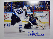 PATRIK LAINE Winnipeg Jets SIGNED Autographed 8X10 Photo w/ COA