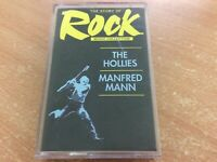 THE HOLLIES / MANFRED MANN THE STORY OF ROCK (SORMCO3B) CASSETTE TAPE ALBUM MB23