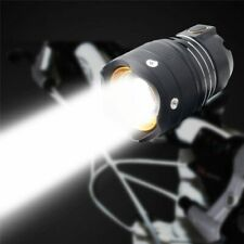 MTB Bicycle LED Bike Light Headlight USB Rechargeable Zoom Outdoor Night Riding