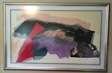 """Matter"" #48/99 by award-winning Israeli artist Smadar Livne 54""x32"" ++"