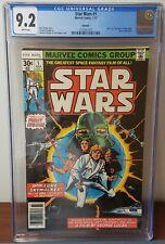 Star Wars #1 July 1977 Marvel 2nd Print Reprint 9.2 CGC Comic WP